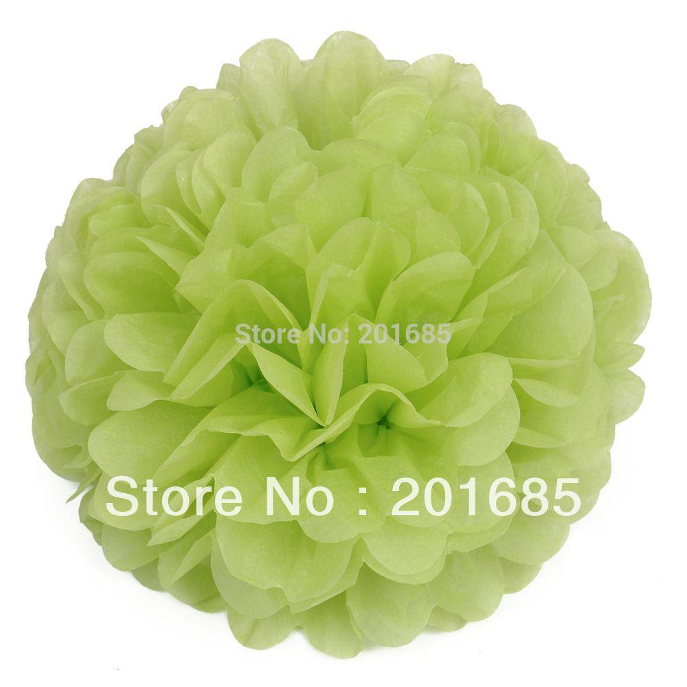 2018 10 25cm Tissue Paper Pom Poms Flower Balls Wedding Party Shower