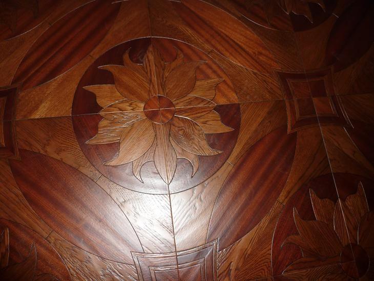 Wood Flooring Parquet Wood Flooring Medallion Lotus Oak Merbau Wood  Profiled Wood Flooring Asian Pear Sapele Wood Floor Wood Wax Wood Floo