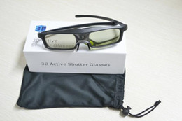 Wholesale Cheaper 3d Glasses - New Item Creative Product Cheaper Active 3D DLP LINK Lcd Shutter Glasses For Optoma HD33 Ready Projector