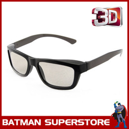 Wholesale 3d Passive - 100% Brand New Cheap Circular Passive 3D Glasses for FPR Cinema LG 3D Televisions