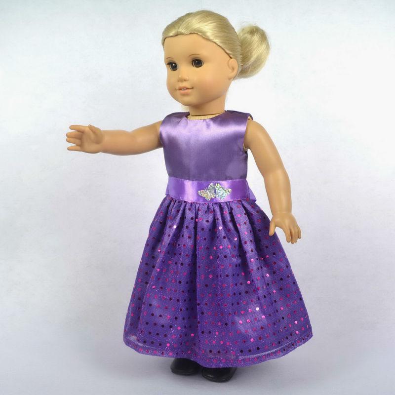 Compre Muñeca Ropa Cabe 18 American Girl Dolls Muñeca Vestido ...