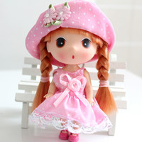 Wholesale Accessories Girlfriend - Christmas gift Super lovely confused doll, The little girl doll high 12CM girlfriend gifts & birthday gift