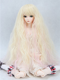 Wholesale Care Sd - 2015 new product 1 6 Sweet heat resistant wire bjd sd girls doll wig BJD doll Wig sets take care of easy wig Free Shipping
