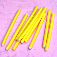 Wholesale Hair Roller Prices - PROMOTION WITH CHEAP PRICE! 20pieces lot Hair Curling Flexi rods Magic Air Hair Roller Curler Bendy Magic Styling Hair Sticks