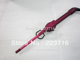 Wholesale 2015 NEW STYLER Very Small Curling Iron Rose Red Diameter Only 9mm Rose Red Free Shipping