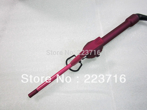 top popular 2015 NEW STYLER Very Small Curling Iron Rose Red Diameter Only 9mm Rose Red Free Shipping 2019