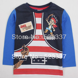 Wholesale Boys Clothes T - baby kids clothes A4360# new hot fashion nova kids brand baby boys children clothing cotton spring long t shirt for baby boys