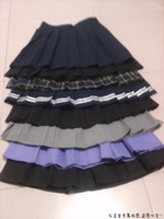 Wholesale Ladies Uniform Skirts Sexy - Japanese Preppy Uniform Style New 2015 Women Spring Summer Slim Fit High Waist Pleated Mini Skirts Ladies' Sexy Short Skirt