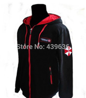 Wholesale Costume Resident Evil - Biohazard Umbrella Resident Evil Coat mens hoodies and sweatshirts sportswear tracksuits men boys children cosplay costume
