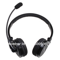 Wholesale Skype Headset Wireless - Nosie Canceling Bluetooth Headset Wireless Handsfree Headphone for PC PS3 Skype Cellphone for iPhone 4S and other Free shipping