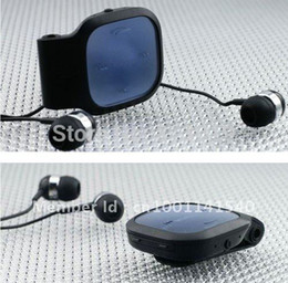 Wholesale Mic Iphone 4s - Clip Stereo Wireless Bluetooth Headset BH-214 Headphone Earphone With Mic For IPhone 4S ALL Mobile Phone