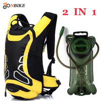 Wholesale Mtb Backpack - With Large Capacity Water Bag!! MTB Bicycle Backpack MTB Bike Rucksacks Packsack Road Cycling bag Riding Running Sport Backpack