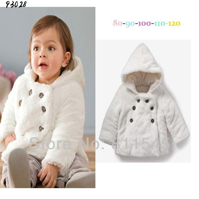 Retail Cream Warm Winter Baby Jackets &Amp; Coats Kids Parka For ...