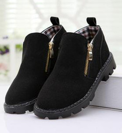 Wholesale Autum Children - Wholesale-Canvas 2015 Autum boy children shoes single leather shoes boys moccasin loafers shoes SIZE EURO 21 to 37 c817