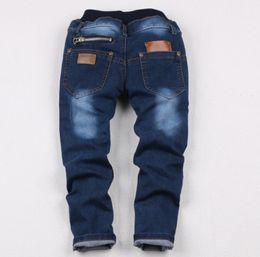 Wholesale Wild Child Clothes - Wholesale-Spring 2015 new children's clothing boys wild baby jeans children trousers new Korean version children jeans pants
