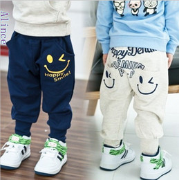 Wholesale Haren Jeans Boy - Wholesale-SP-115,5 pcs lot Free shipping 2015 new style children smile trousers Terry Haren kids wear top quality baby pants wholesale