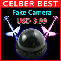 Wholesale Decoy Dvr Cctv Security - Emulational Fake Decoy Dummy Security CCTV DVR for Home Camera with Red Blinking LED Free Shipping