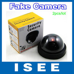 Wholesale Cctv Dvr For Sale - Big sale 2pcs lot Emulational Fake Decoy Dummy Security CCTV DVR for Home Camera with Red Blinking LED Free Shipping