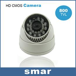 Wholesale Dome Camera Remote Control - Wholesale CMOS 800TVL Security Camera 24leds IR Dome Camera CCTV Camera Stairs& Aisle&Elevator Support UTC Remote Control