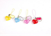 Wholesale Mini 3d Crystal Puzzles - Free Shipping 3D Crystal Puzzle Jigsaw Mini Heart Charm Dangle [4 4008-371]
