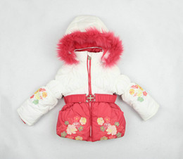Wholesale Snowsuits Child - 2015 New brand children girl winter clothing sets kids thick warm snowsuits hooded outerwear + vest + overalls pants fashion set