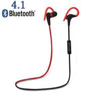 blutooth mp3 al por mayor-Al por mayor-original deporte Bluetooth V4.1 auriculares inalámbricos auriculares estéreo Blutooth manos libres para iPhone 7 Samsung / HTC / LG / MOTO
