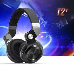 Wholesale-100% Original Bluedio T2+ Turbo Wireless Bluetooth 4.1 Stereo Headset with Mic Support TF Fashion Bluedio T2 +Upgrade Headphone supplier bluetooth 4.1 headphones от Поставщики bluetooth 4.1 наушники