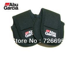 Wholesale Abu Garcia Tackle Bags - Hot!!! Free Shipping Abu Garcia Bait Casting Fishing Reel Bag,Thicken High Elasticity,Fishing lure Tackle 2Pcs Lot