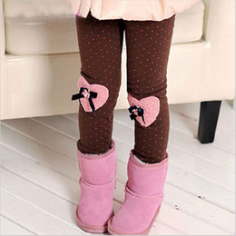 Wholesale Thick Kids Leggings For Winter - winter baby girls' leggings,kids clothing warm pants children's cotton casual sports trousers,next lassie thick pants for kids