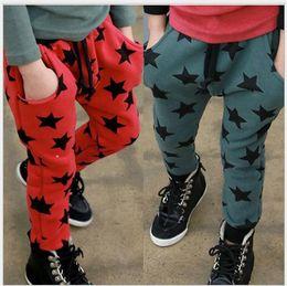 Wholesale Harem Pants Kids Red - new 2015 kids clothing boys girls autumn pentastar harem camouflage pants trousers children pants