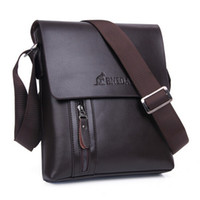 Wholesale White Briefcase Leather - New arrival wholesale!! Brand Men Designer Mens Bag Fashion 100% Genuine Leather Bags Briefcase Business Shoulder Messenger Bags