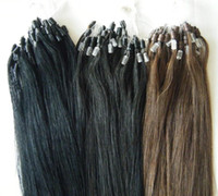 """Wholesale Dark Auburn Micro Ring Extensions - MIRACLE 100g 22"""" #1 Indian human micro ring REMY hair extension 1g s 0.8g s STOCK"""
