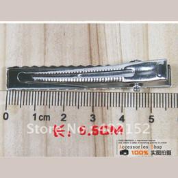 Wholesale Diy Crocodile - Wholesale 55mm DIY Alligator Crocodile Duckbill hair clips with teeth,Children Kids Girls hair ornaments accessories decoration