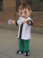 Wholesale Ben Costume - Ben 10 Mascot costume ! Free S H