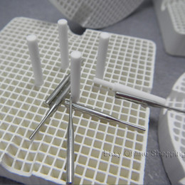 Wholesale Pins Dental Lab - 4pcs Dental Lab Honeycomb Firing Trays with 20 Metal Pins 20pcs Zirconia Pins Freeship