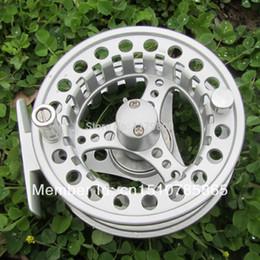 Wholesale Die Fly Fishing - Die Cast Aluminum Fly Fishing Reel 95mm 7 8 Left Right Handed 2+1 Ball Bearings