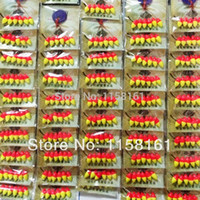 Wholesale Stoppers Rainbow - Wholesale-60pcs LOT Stoppers Rainbow float seven-star bleaching lure raditional bleaching Fishing accessories CD001 WHOLESALE