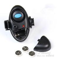 Wholesale Bite Alarm Buzzer - Wholesale-New Outdoor Electronic Fish Bite fishing Alarm fishing Finder Sound Alert Running LED Clip on Fishing Tool Buzzer JT032