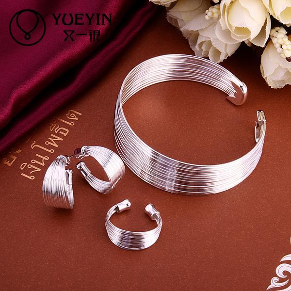 fashion  925 sterling silver jewellery sets african  jewelry set