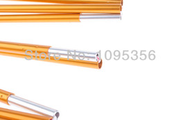 Wholesale Tents Aluminium Poles - Freeshipping One piece Aluminium Alloy Tent Pole 4.4M x 8.5MM Replacement Tent Pole