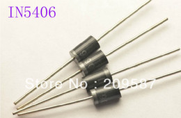 Wholesale Rectifier Diodes - 100pcs IN5406 1N5406 Rectifier Diode 3A 600V DO-27