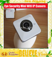Blanc Portable caméra multifonction Facile Eye Security Mini Wifi IP CCTV System + Wifi / Wireless Remote Monitor +