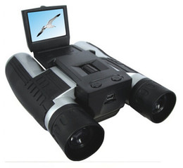 "battery mega UK - 5.0 Mega Pixels 2.0"" TFT LCD Digital Camera with Telescope and 12x digital zoom Binocular digital camera"