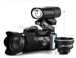proiettore della batteria al litio Sconti PROTAX D3200 Fotocamera digitale da 16 milioni di pixel contenente batterie al litio con zoom ottico 21X e videocamera digitale a LED
