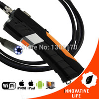 WiFi Inspección 8.5mm Cámara Boroscopio Snakescope endoscopio flexible de 3 metros de cable HD impermeable 3M iPad iPhone iOS Android