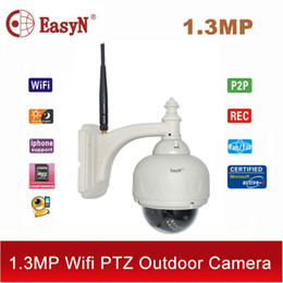 Wholesale Easyn Ptz - EasyN 1.3MP 960P wi fi cctv PTZ IP camera wifi wireless ip camera outdoor 720P security HD video TF cam surveillance IPC ipcam