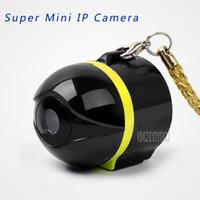 ip ipad großhandel-Ai Ball Super Mini CCTV Wifi Kamera Wireless IP Überwachungskamera für Iphone Ipad Android Telefon SC001-P27