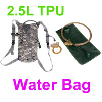 Wholesale Acu Hydration - New 2.5L TPU Hydration System Bladder Water Bag Backpack ACU Men Women Backpack for Camping Hiking Climbing Outdoor Sports