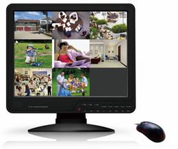 Wholesale One Channel Dvr - all in one Standard alone DVR H.264 4 Channels BNC 15 LCD 1024*768 dvr 4channel 1Channel BNC 1Chann