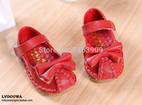 Wholesale Cow Baby Shoes - Wholesale-Retail Children Leather Shoes Baby Girls Sandals 2015 Kids Summer Shoes Cow Muscle Soft Sneakers Casual Sandalia Infantil